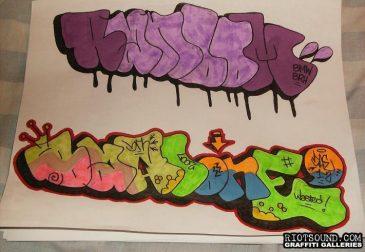 Graffiti Scrap Book