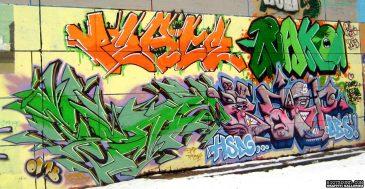 Graffiti Wall Ottawa