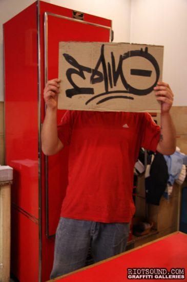 Graffiti Writer In Argentina