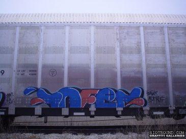 INFER Train Car Graff 1