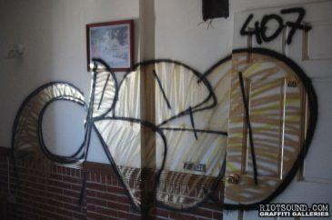Indoor Graffiti Bomb