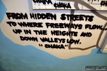LA Graffiti King CHAKA