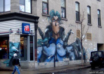 Manga Street Art