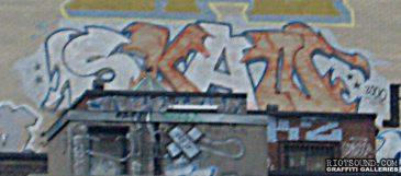 Montreal Rooftop Street Art
