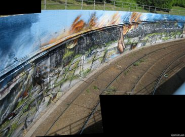Mural By The Tracks