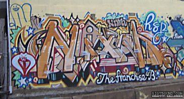 NIXON Graffiti Art
