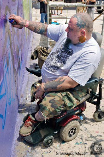 Old School Graffiti Writer
