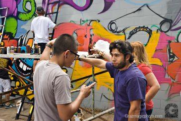 Outdoor Graffiti Painters