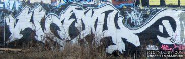 Outdoor Graffiti Piece