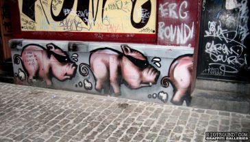 Outdoor Pig Art