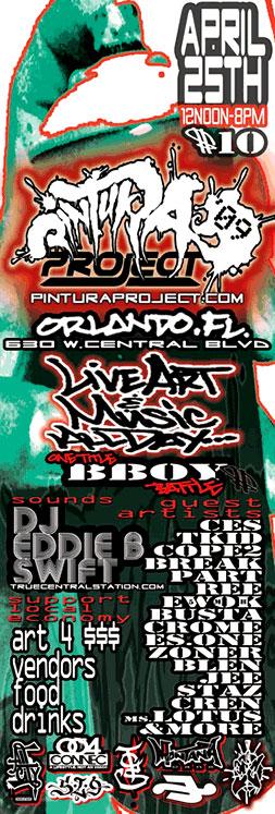 Pintura Project Flyer