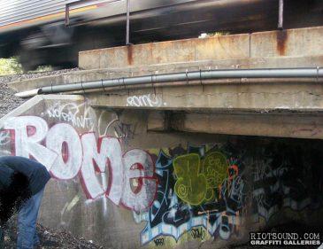ROME Graffiti BRH
