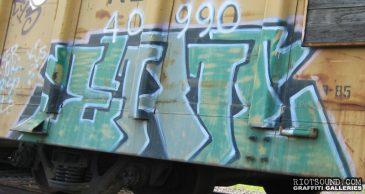 Rail Car Artwork
