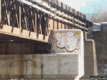 Railroad Bridge Throwup