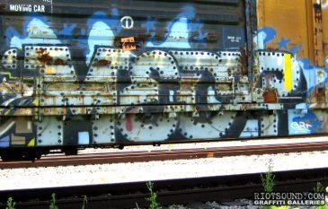 Railway Car Graffiti