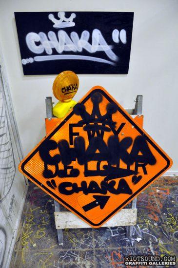 Road Sign Graffiti Hit