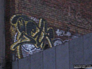 Rooftop Graffiti Hit