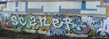 SCANER Graffiti Piece