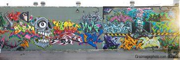 SPANISH PUERTO RICAN GRAFFITI WALL