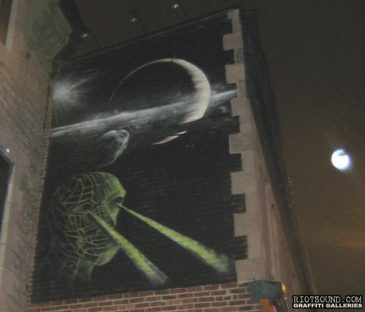 Street Art At Night