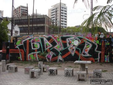 Street Art In The Park