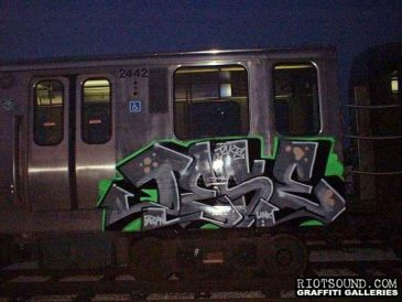 Subway Graffiti 1