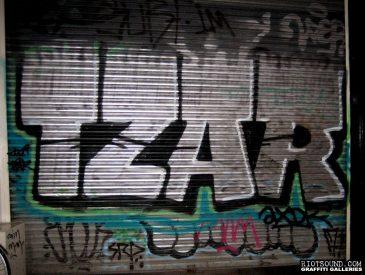 TZAR Graffiti Amsterdam