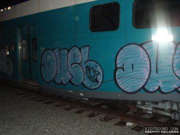 Train Graff Hit