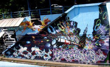 Tram Station Mural