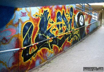Tunnel Ramp Graffiti
