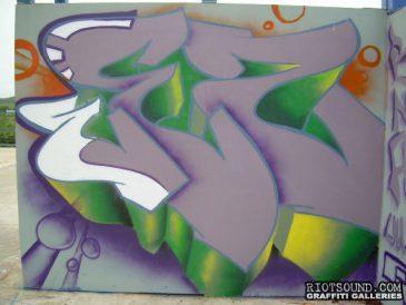 WEZ Graff Piece