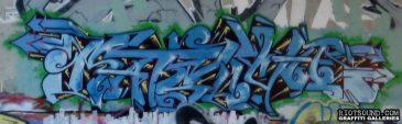 Wildstyle Graffiti Piece