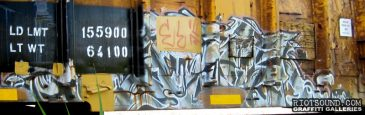 Wildstyle On Freight Car