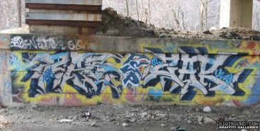 Zar Uno FSP NJ Graffiti