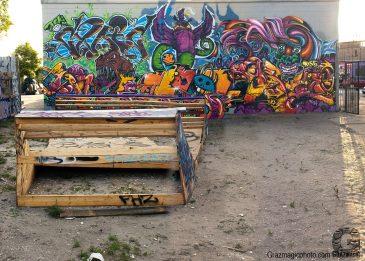 old skate ramp