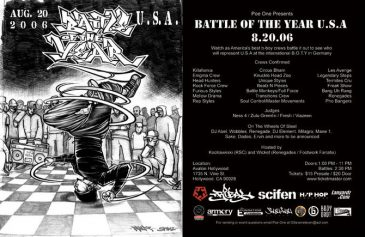 B Boy Battle AUG2006