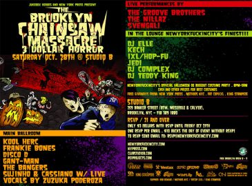 Brooklyn Chainsaw OCT 2006