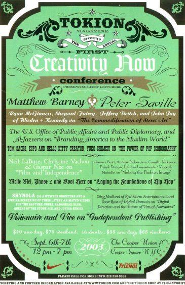 CreativityNowTokionSep
