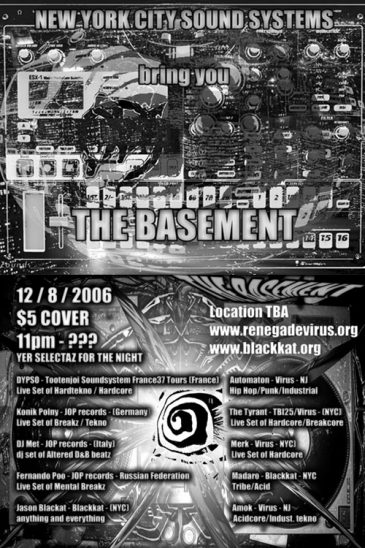 The Basement DEC 2006