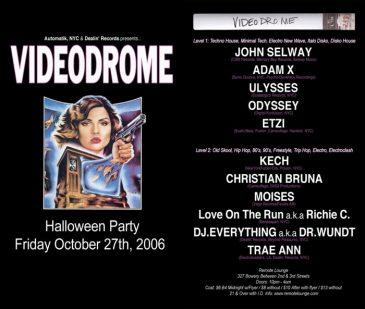 Videodrome OCT 2006