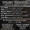 Trust Techno OCT 23rd, 2003 Trust Lounge NYC