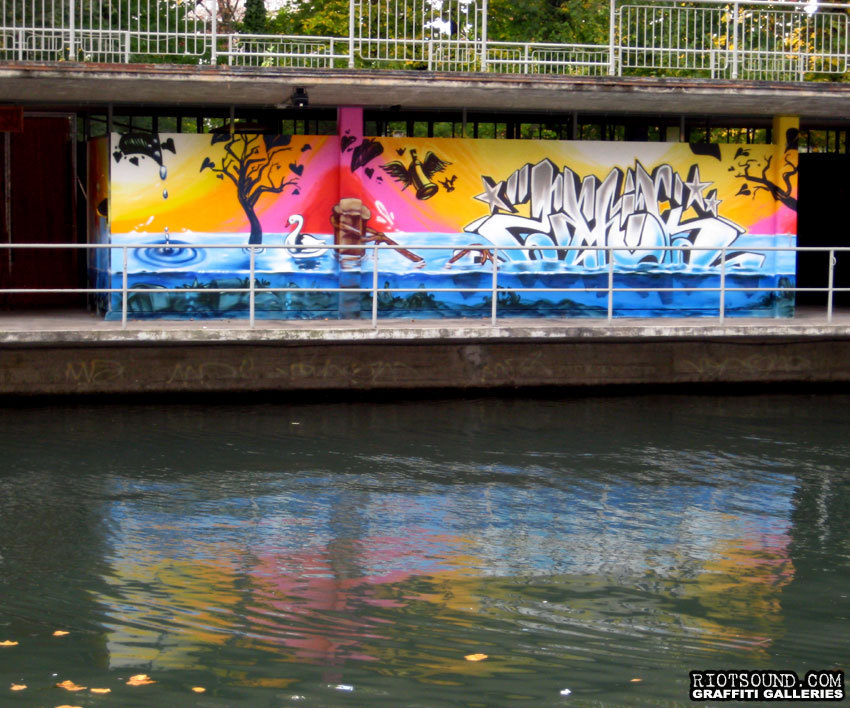 Aerosol Art By River