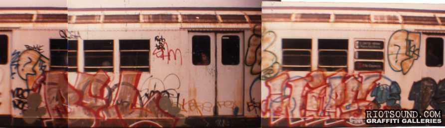 BEL WIPS Subway Graffiti