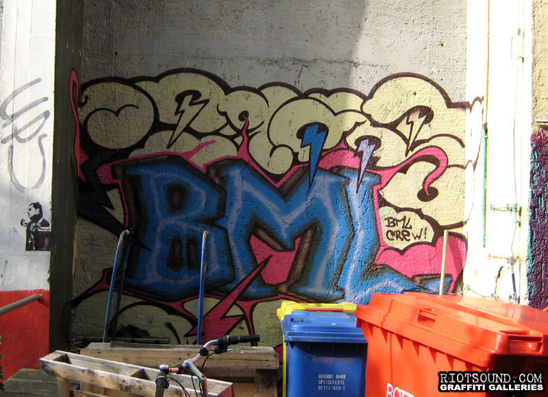 BML Crew Graffiti