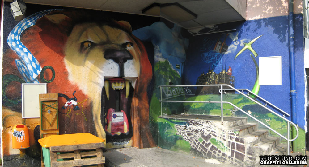 Bavaria Lion Mural