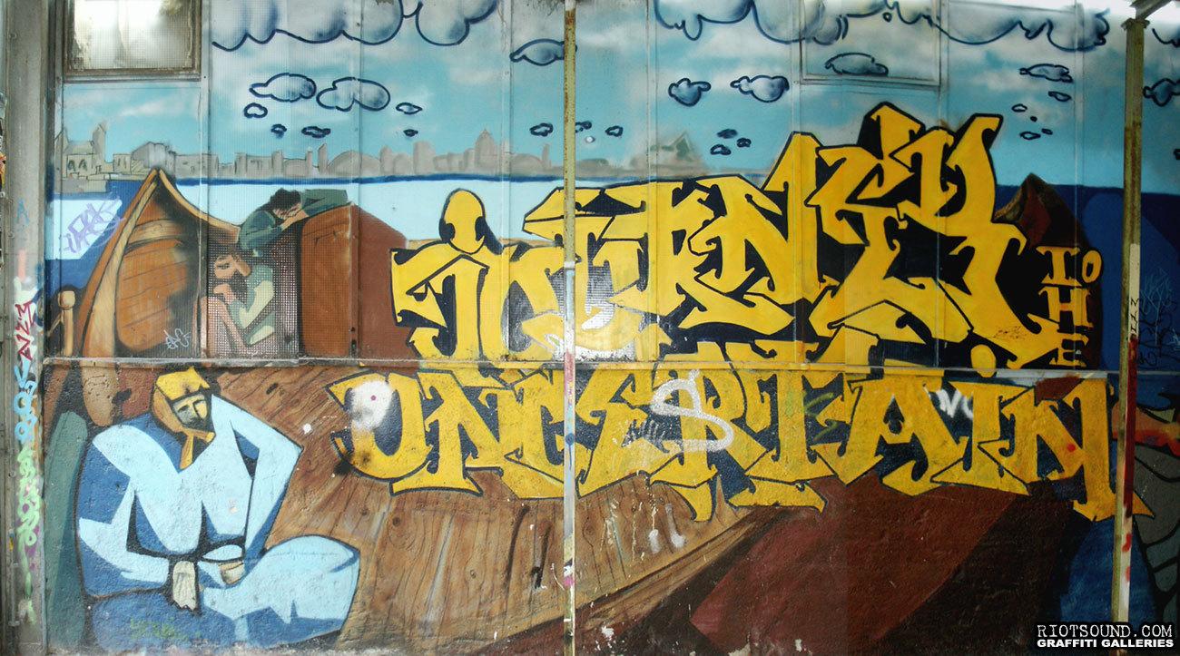 Deutschland Kultfabrik Graffiti