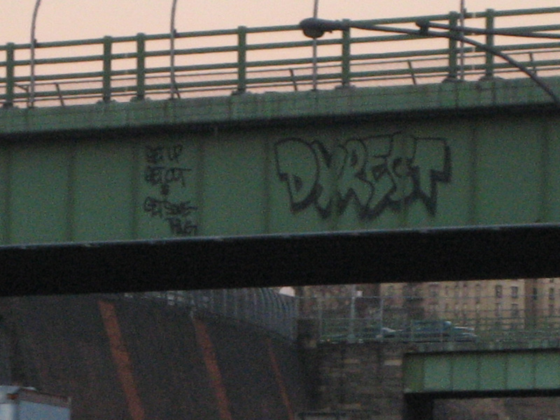 Dyrect Bronx Graffiti