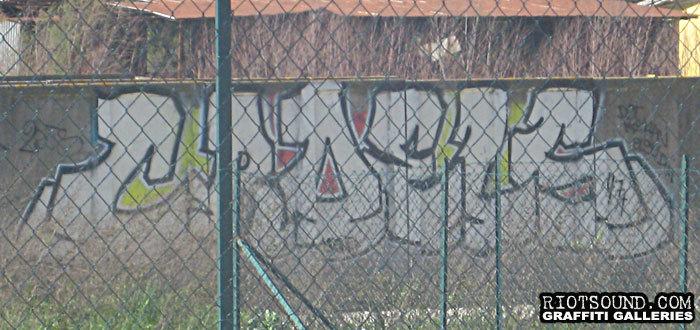 Graff fillin In Italy