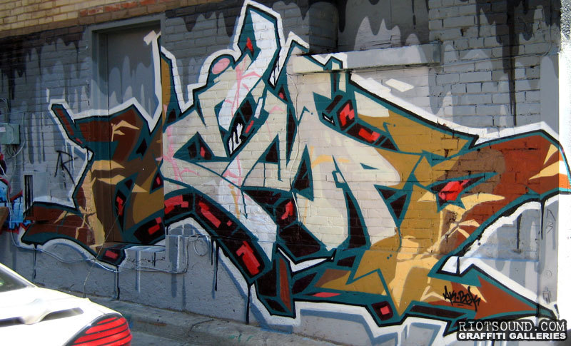 Graffiti Art In Toronto