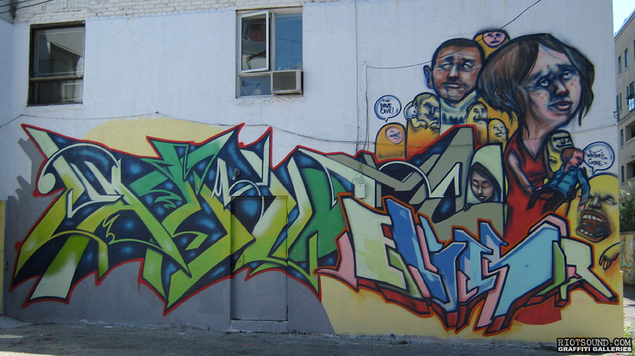 Graffiti Art Mural